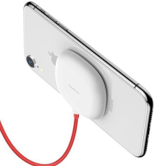 Baseus Spider Suction Cup Wireless Charger White