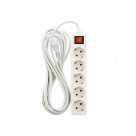 Pagarinātājs Okko Extension Cord CX-DB-05K 3x1.5mm² 5V 5m White