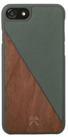 Woodcessories EcoSplit Back Case For Apple iPhone 7 Plus/8 Plus Walnut/Green