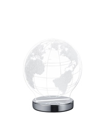 GALDA LAMPA GLOBE LED 7W HROMS