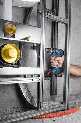Akumulatora skrūvgriezējs - urbis Bosch GSR 18-2-LI