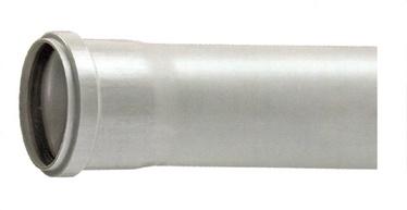 Kanalizācijas caurule D75x1000mm, PVC