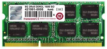 Operatīvā atmiņa (RAM) Transcend JetRam TS8GJMA384H DDR3 (SO-DIMM) 8 GB