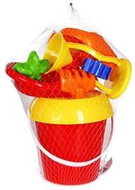 Smilšu kastes rotaļlietu komplekts Verners 649 Red