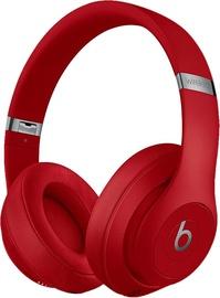 Austiņas Beats Studio3 Wireless Red, bezvadu
