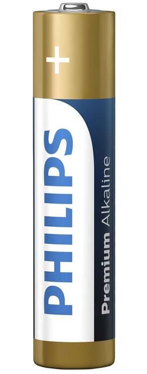 Philips Premium Alkaline LR03M4B/10
