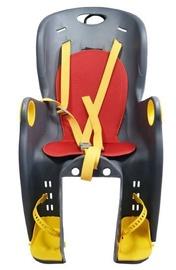 Детское кресло для велосипеда Bimbo Bike Children, черный/красный/желтый