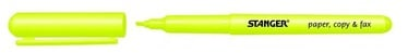 Stanger Highlighter Pen 1-3mm 10pcs Yellow 180001900