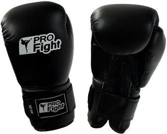 ProFight PVC Boxing Gloves Black 12oz