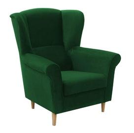 Atzveltnes krēsls Idzczak Meble Loft 1 Green, 88x80x105 cm