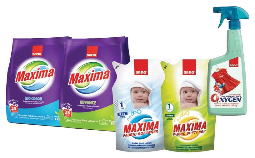 Sano Maxima Advance Concentrated Washing Powder 1.25kg