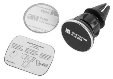 Automašīnu turētāji Natec Extreme Media NKP-1092 Magnetic Car Holder Black