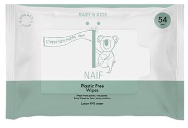 Mitrās salvetes Naif Baby & Kids, 54 gab.