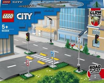 Конструктор LEGO City Дорожные пластины 60304, 112 шт.