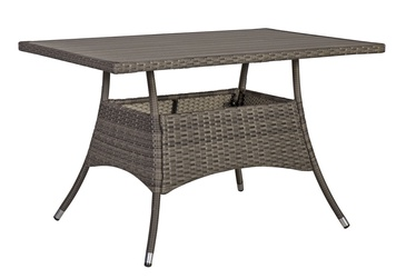 Садовый стол Home4you Paloma Brown/Grey, 120 x 74 x 72.5 см