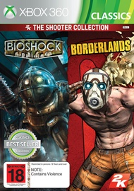 2K The Shooter Collection: Bioshock And Borderlands Xbox 360