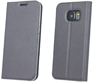 Blun Premium Smart Magnetic Fix Book Case For LG K10 2017 Grey