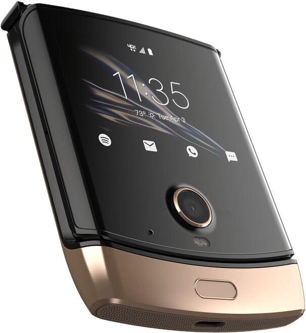 Mobilais telefons Motorola Razr, zelta, 6GB/128GB
