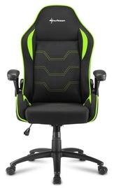 Spēļu krēsls Sharkoon Elbrus 1 Black Green