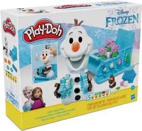 Моделин Hasbro Play-Doh Frozen Olafs Sleigh Ride E5375EU4