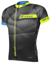 Force Best Short Jersey Black/Yellow XXL