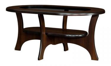 Kafijas galdiņš Bodzio S04 Walnut, 1300x800x590 mm