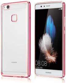 Hurtel Metalic Slim Back Case For Huawei P10 Lite Pink