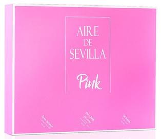 Komplekts sievietēm Instituto Español Aire De Sevilla Pink 3pcs Set 450 ml EDT