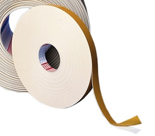 Gumijas lente Tesa Double-Sided Adhesive Tape White 12mm 25m