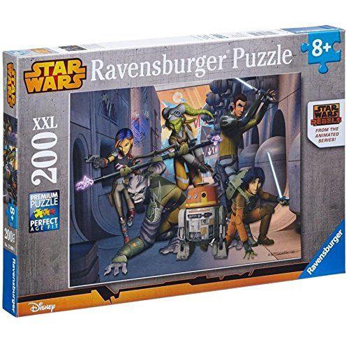Пазл Ravensburger Star Wars Rebels XXL, 200 шт.