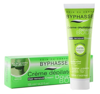 Byphasse Aloe Vera Depilation Cream 125ml