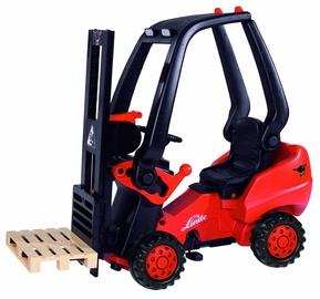 Traktors BIG Linde Forklift, melna/oranža