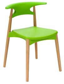 Ēdamistabas krēsls Home4you Aries Green 27758