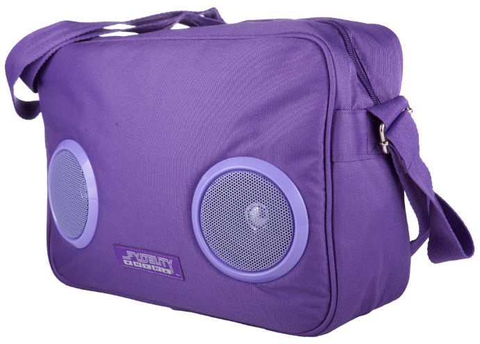 Fydelity Fyd Daily G-Force Bag with Speakers Purple
