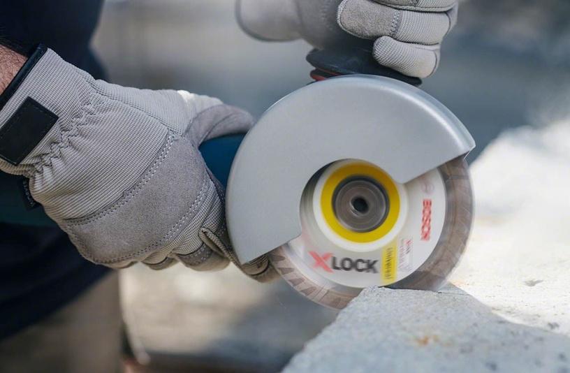 Griešanas disks leņķa slīpmašīnām Bosch X-Lock 2608615166 Universal Diamond Cutting Disc 125x2mm