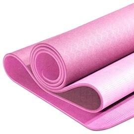 Fitnesa un jogas paklājs Yunmai YMYG-T803, rozā, 183 cm x 80 cm