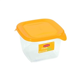 Curver Food Container Square 0,45L Fresh&Go Yellow