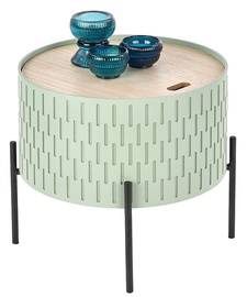 Kafijas galdiņš Halmar Sintra Light Green, 350x350x350 mm