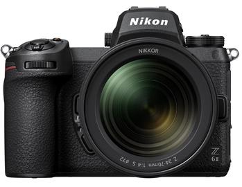 Sistēmas fotoaparāts Nikon Z 6 II + Nikkor Z 24-70mm F/4 S