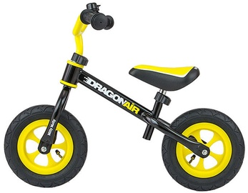 Velosipēds Milly Mally Dragon Air Balance Bike Black 2756