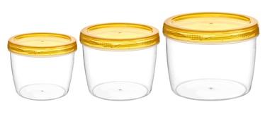 Galicja Food Container Set 3pcs Yellow
