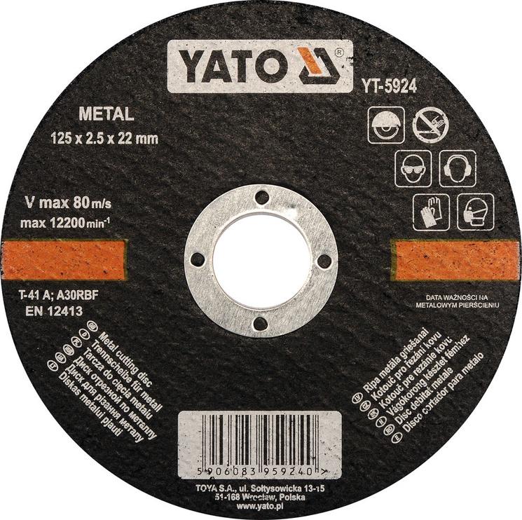 Yato YT-5924 Metal Cutting Disc 125mm