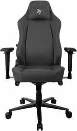 Spēļu krēsls Arozzi Primo Woven Fabric Black/Grey/Grey