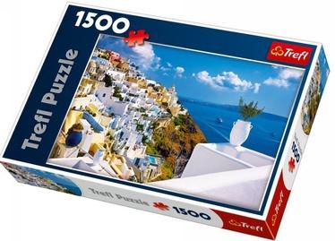 Puzle Trefl Santorini Greece 26119, 1500 gab.