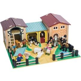 Le Toy Van The Wooden Farmyard TV410