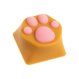 Zomoplus Kitty Paw ABS Keycap Orange/Pink