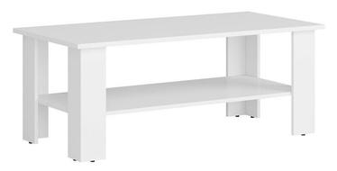 Kafijas galdiņš Black Red White Nepo, balta, 1150x560x455 mm