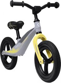 "Līdzsvara velosipēds Lionelo Loe-Bart Tour Grey Stone, dzeltena/pelēka, 19.7"", 12"""