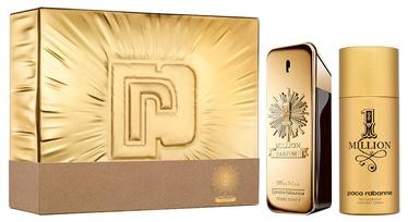 Набор мужской парфюмерии Paco Rabanne 1 Million 2pcs Set 250 ml Parfum
