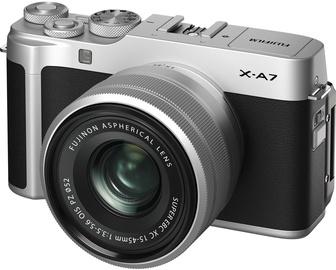 Fujifilm X-A7 + XC 15-45mm F3.5-5.6 OIS PZ Silver